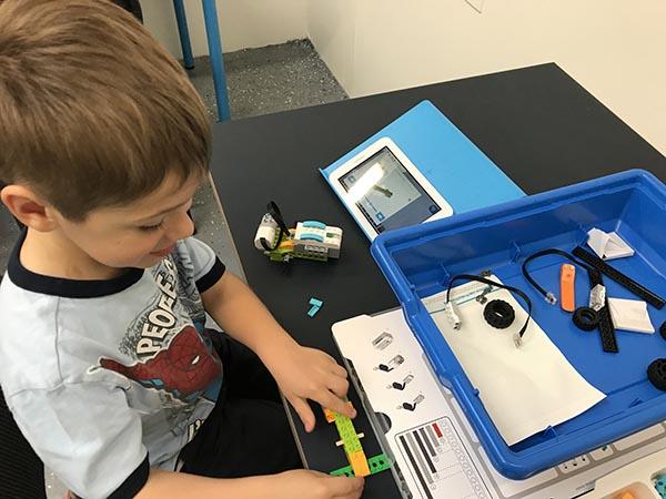 Robotics for your child's skills development
