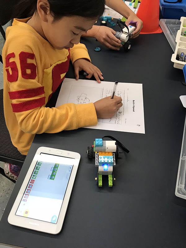 Kids Enjoying Robotics Class