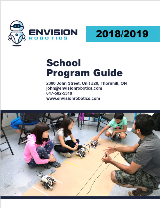 Robotics In The Classroom - Envision Robotics