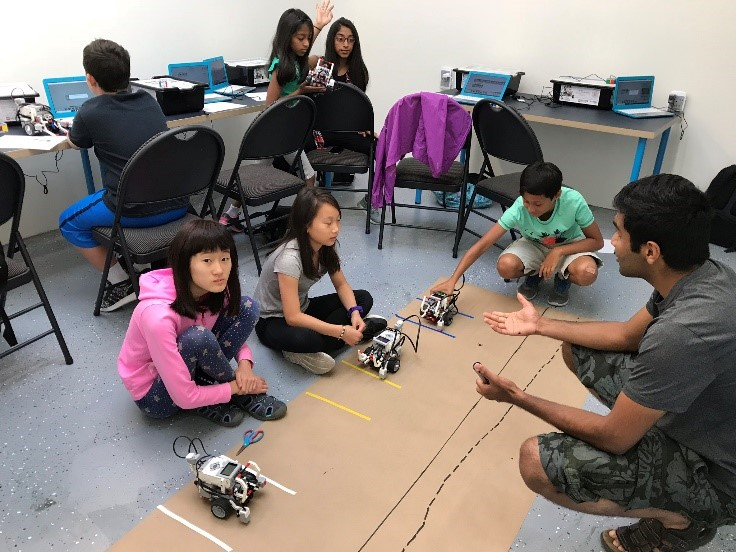 Girls Robotics coding, and 3D Printing